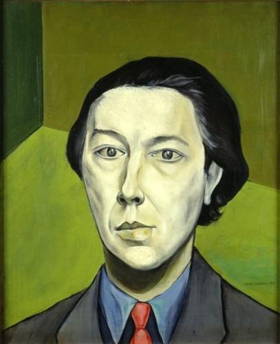 Portrait of André Breton - Victor Brauner